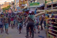 2018 India, Puttaparthi, folk festivals