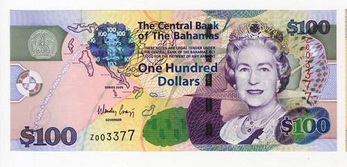 2009 Bahamas Replacement Banknote