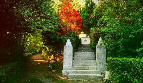 Entrée du cimetière des Français