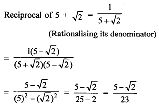 RD Sharma Class 9 PDF Chapter 3 Rationalisation VSAQS - 2
