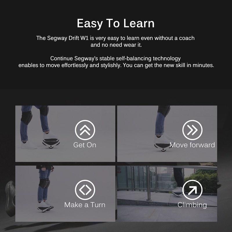 Xiaomi Ninebot Segway Drift W1 レビュー (2)
