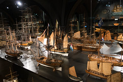 Collection of sailing models