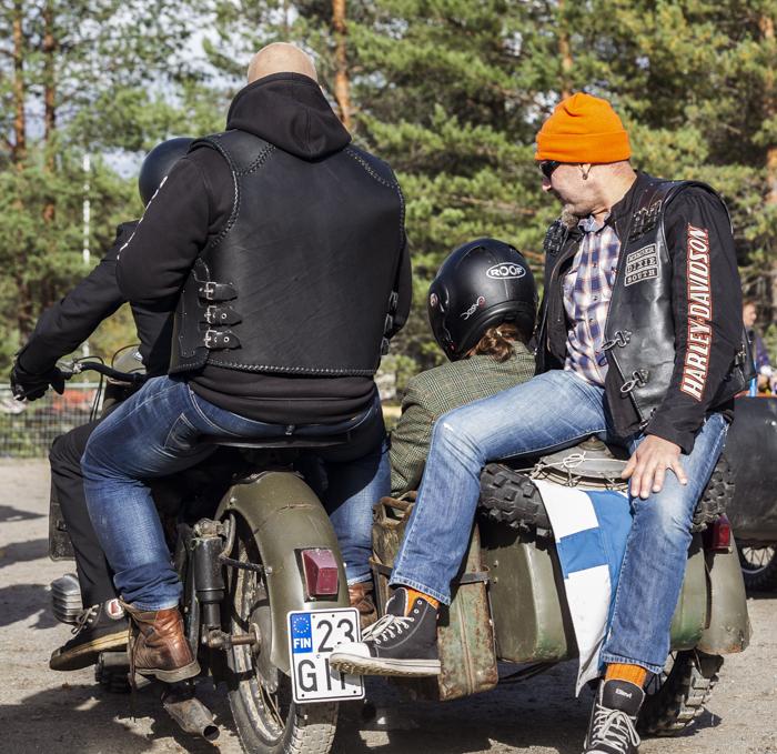 kaanaan kahinat 2018 kuvia kisasta sivuvaunu dixie mc biker