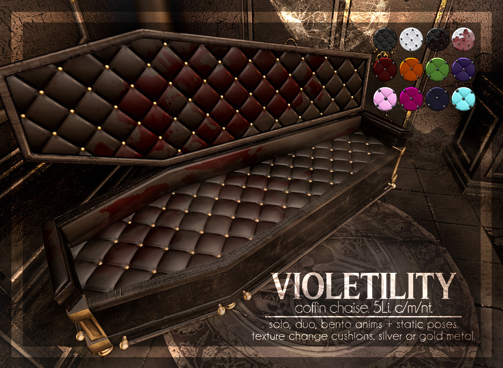 Violetility – Coffin Chaise @ Salem