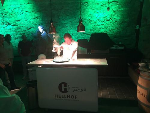 12 - Hellhof Kronberg - Chefkoch bei der Arbeit