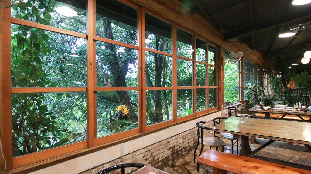 七堵美食 瑪陵 芳裕農場 隱藏版玻璃茶屋