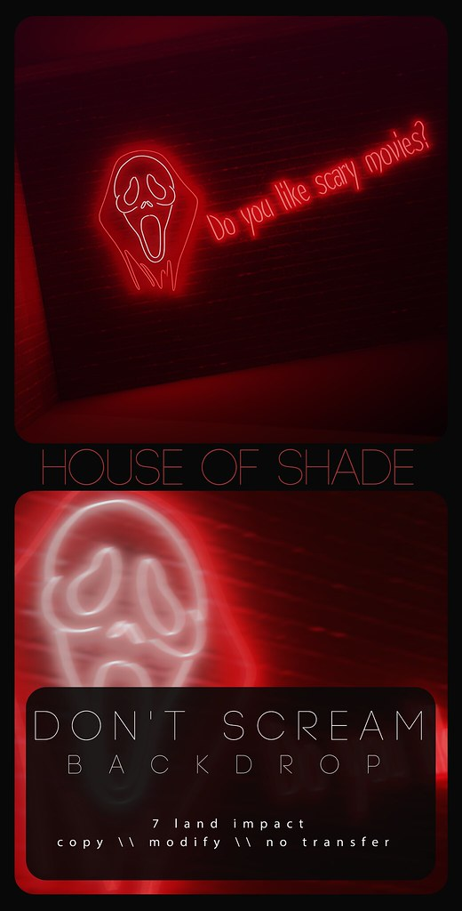 House of Shade – Don't Scream