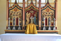 reredos and tabernacle