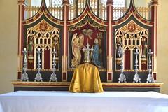 reredos and tabernacle
