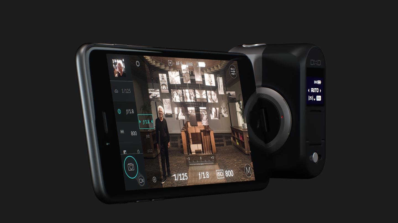 DxO One 一吋感光元件,隨身可調光圈外接相機