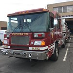 Nyack Fire Department Chelsea Hook and Ladder Company Ladder 10-99