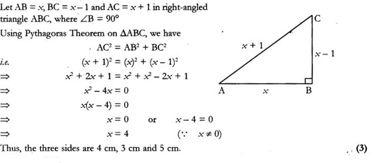 CBSE Sample Papers for Class 10 Maths Paper 10 20