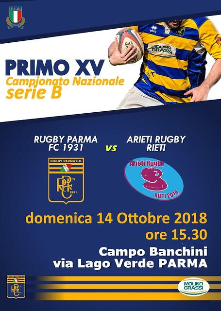RPFC XV Arieti R. Rieti 14.10.18