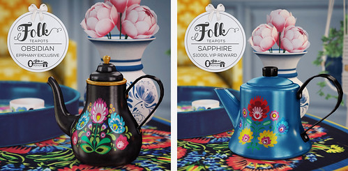 Folk Teapots - The Epiphany exclusive and VIP Rewards