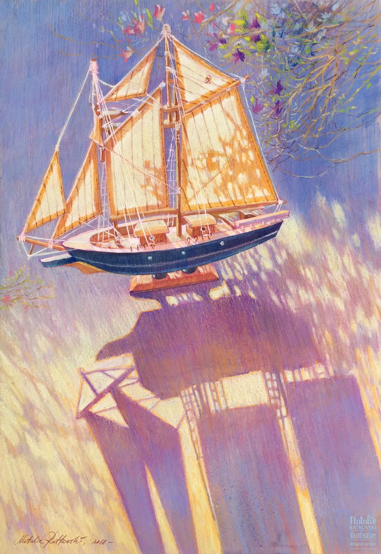 Sunny sail
