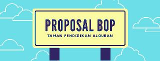 Contoh Pengajuan Proposal BOP TPQ dan Download