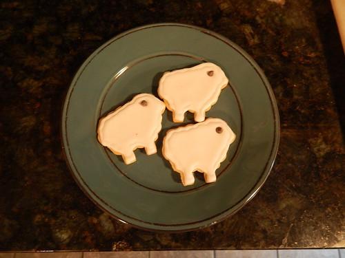 Sheep cookies