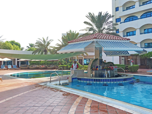 Ajman Hotel Pool Area 6