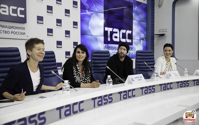 18/10/2018 Пресс-конференция Within Temptation @ ТАСС, Мск