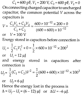 NCERT Solutions for Class 12 Physics Chapter 2 Electrostatic Potential and Capacitance 12