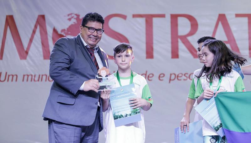 Entrega do Prêmio Cientista Júnior