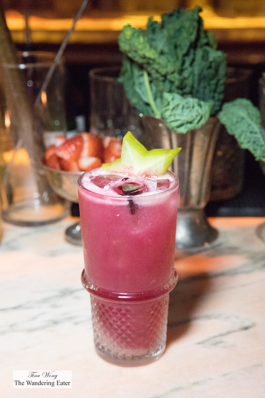 Cosmonaut - Lavender infused vodka, ginger, hibiscus, lime, ginger beer