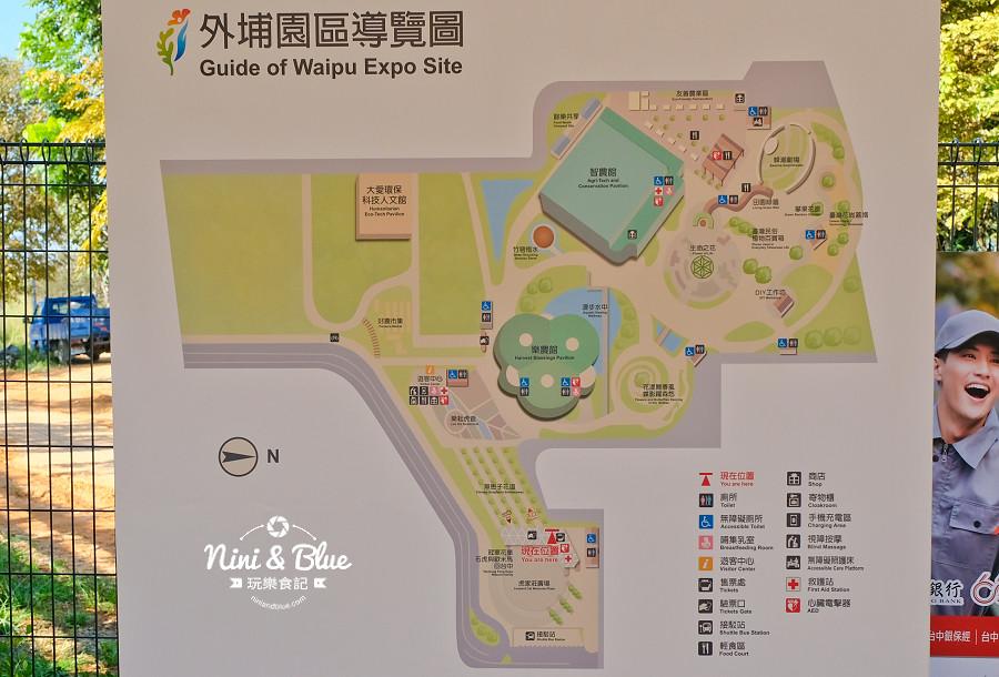 台中花博 外埔園區 交通 接駁車 麗寶樂園30