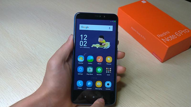 Xiaomi Redmi Note 6 Pro 開封 (51)
