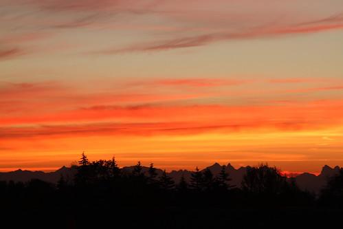 washington washingtonstate washingtonusa everett sunrise sun sky