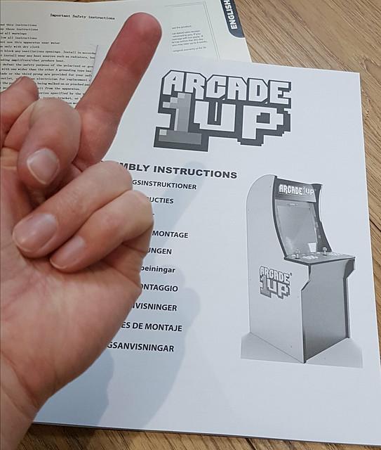 Arcade 1up: Rampage Cabinet - UK-VAC : UK Video Arcade