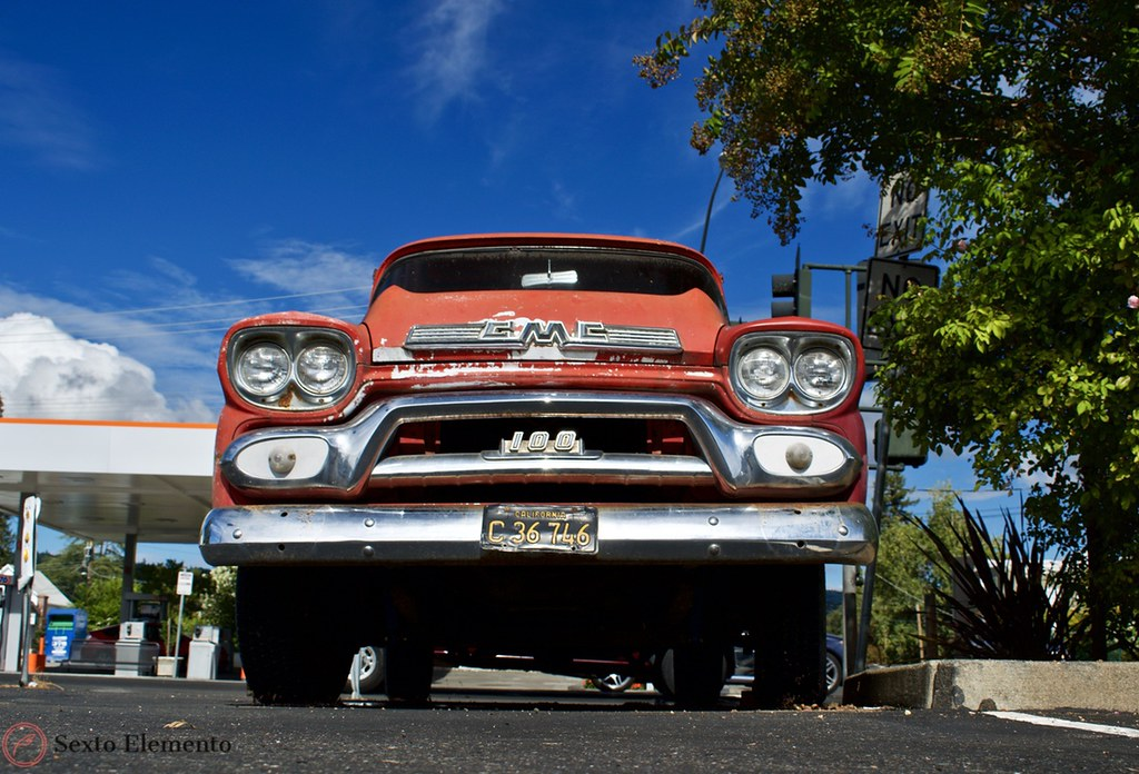 red-gmc-truck