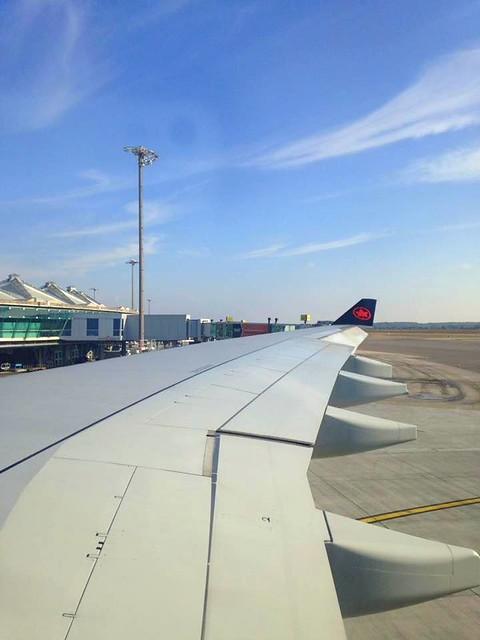 J1 : 18 septembre 2018 : départ de France