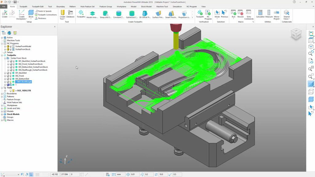 Download Autodesk PowerMill Ultimate 2019.1.1 x64 full license forever