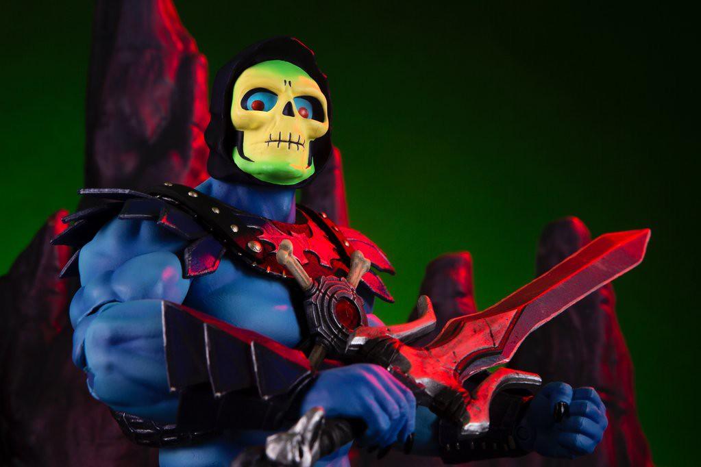 太空超人永遠的宿敵!! MONDO《太空超人》骷髏王 Skeletor 1/6 比例人偶作品 一般版 / MONDO限定版