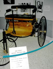 First Car a Benz 1886, Indianapolis Motor Speedway Museum