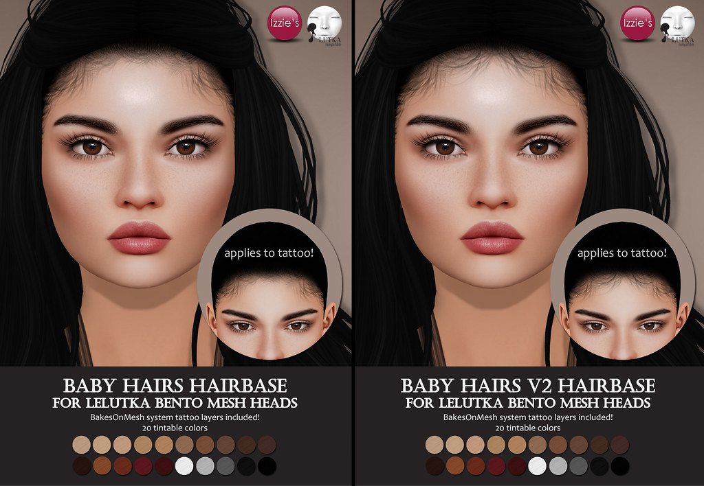 LeLutka Baby Hairs Hairbases (Hair Fair 2018)