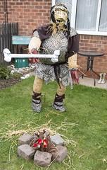 Caveman Scarecrow
