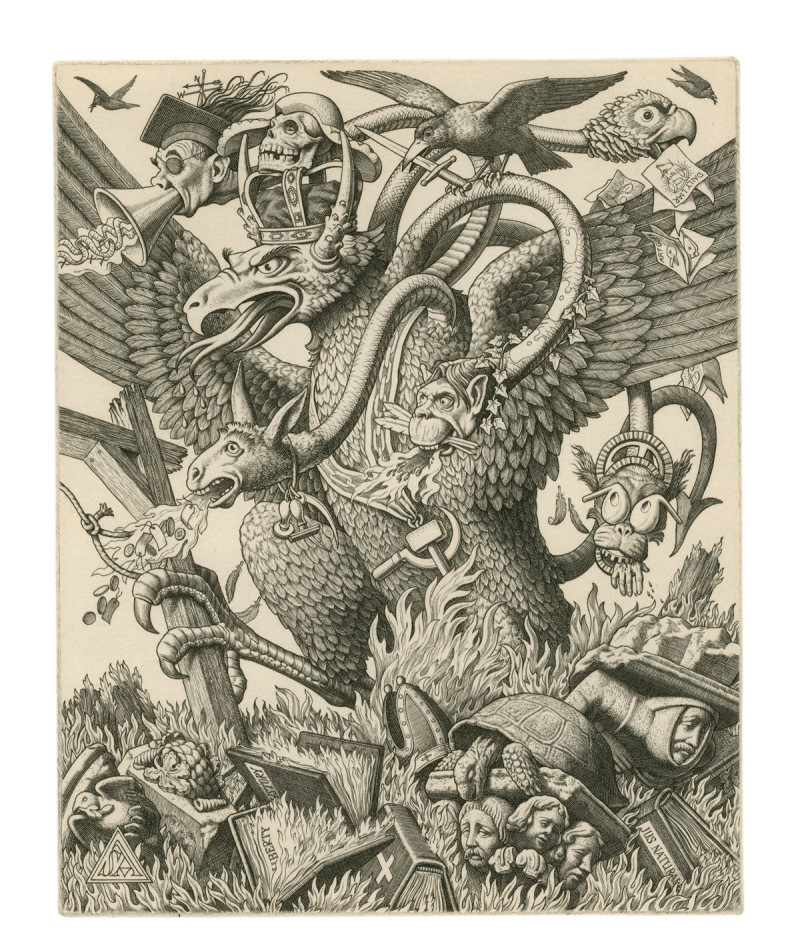 A key figure in the revival of line engraving in the 1920s, Stanley Anderson RA (1884–1966) is best known for his series of prints memorialising England's vanishing rural crafts
