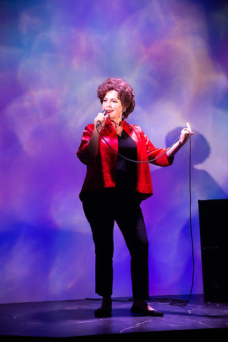 Jody Briskey. Beyond the Rainbow: The Judy Garland Musical at Farmer's Alley Theatre. Photo courtesy and copyright Becky Klose