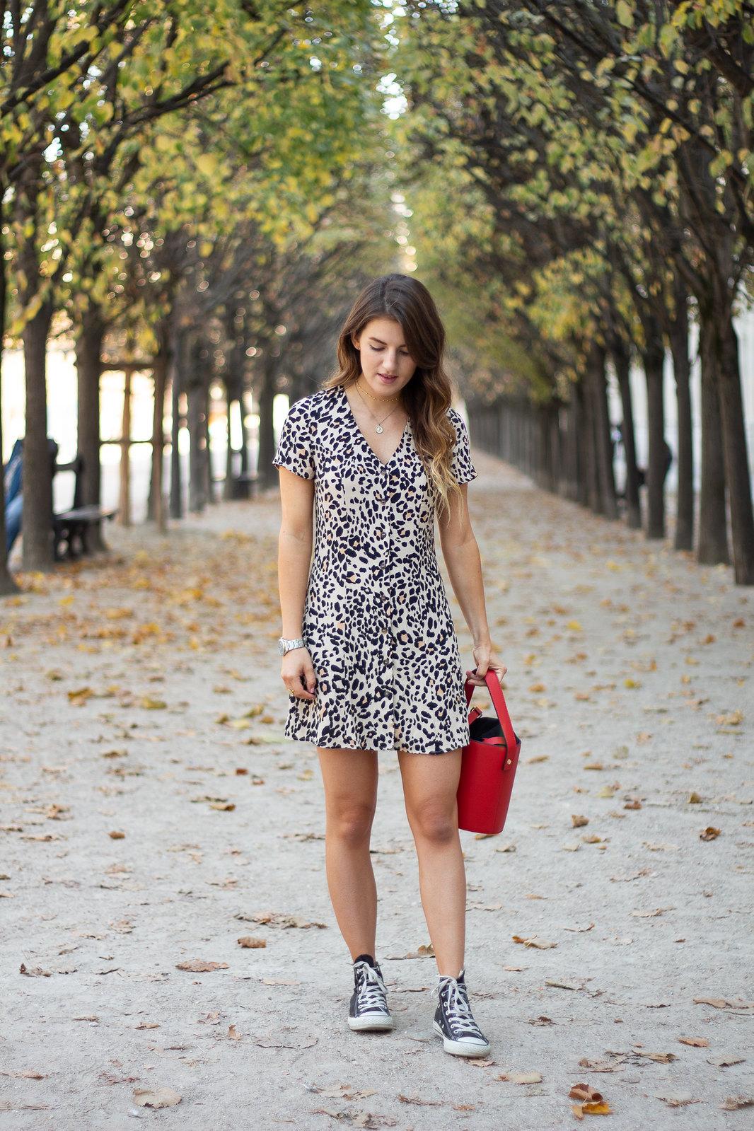 leopard print dress-3