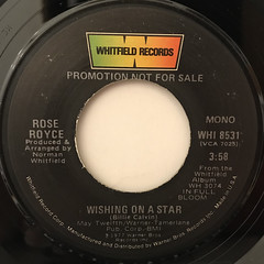 ROSE ROYCE:WISHING ON A STAR(LABEL SIDE-B)