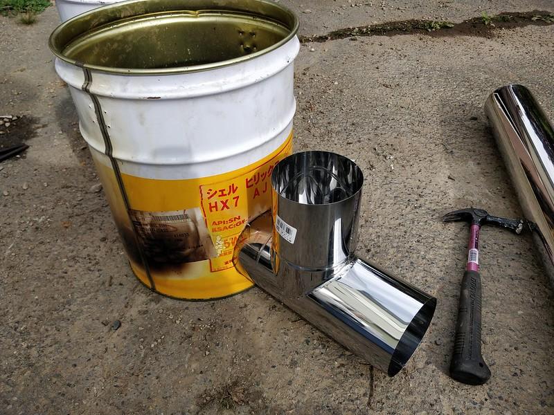 ビニールハウス用のストーブを作る (9)