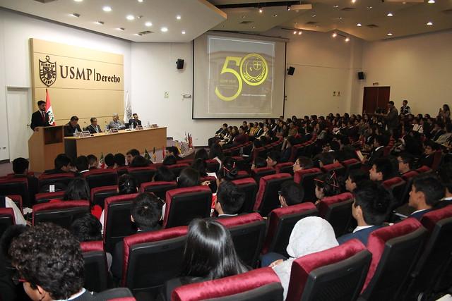Facultad de Derecho de la USMP organizó el IV Modelo de Naciones Unidas – MUN