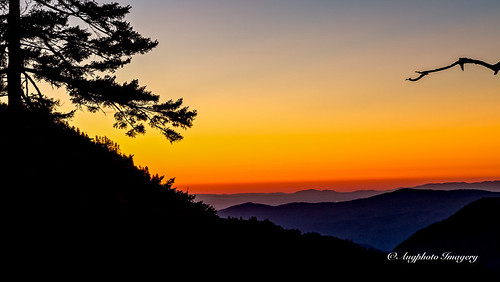 augphotoimagery mountains nature outdoor outdoors scenic sunset trees gatlinburg tennessee unitedstates
