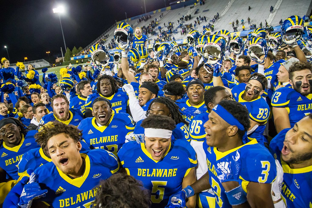 Delaware knocks off No. 10 Towson in thrilling fashion