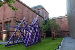 Mannheim - Kunsthalle: Altbau (Billing-Bau)