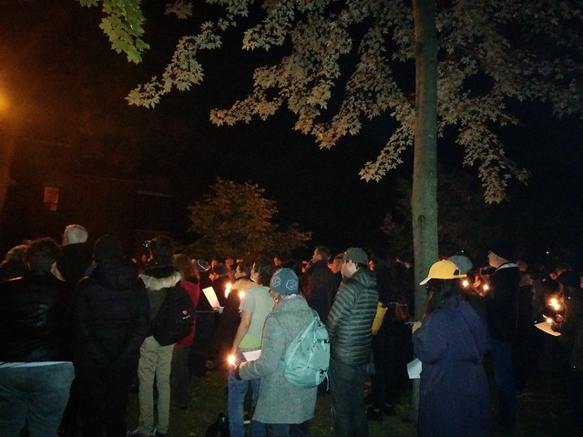 Vigil (1) #toronto #dufferingrovepark #ifnotnow #pittsburghstrong #vigil #night #latergram