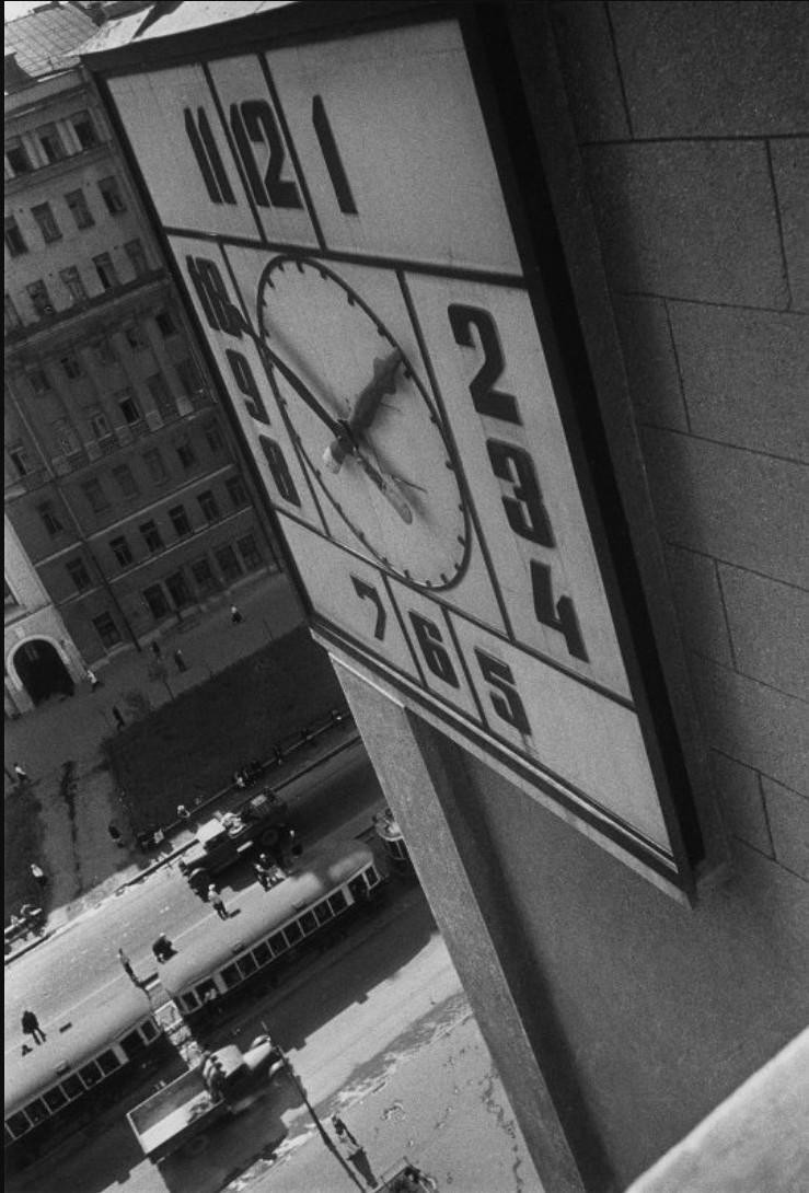 1933. Здание Наркомзема. Часы