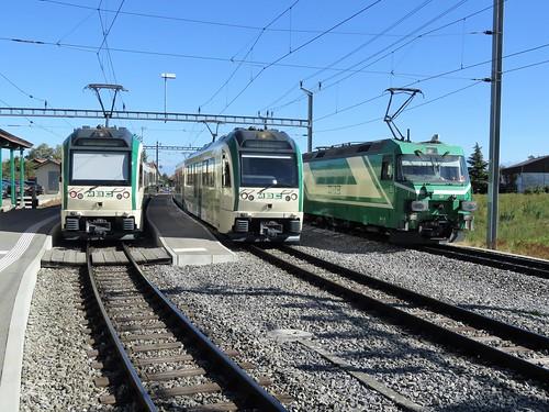 Trains du Morges Bière Cossonay anciennement Bières Apples Morges (Suisse)