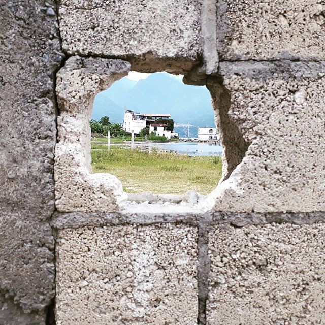 Hole in the wall. San Pedro la Laguna, Guatemala.